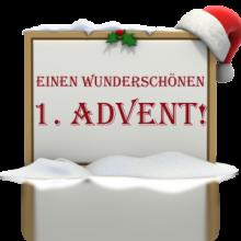 Gruß zum ersten Advent