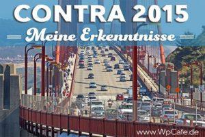Conversion & Traffic Konferenz - Contra 2015