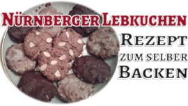 Nürnberger Lebkuchen Rezept und Anleitung