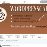 Neues Twitter Design und kostenlose Templates