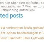 Mit Related Posts Plugins für Wordpress ähnliche Beiträge anzeigen lassen