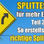 Splittests richtig einsetzen